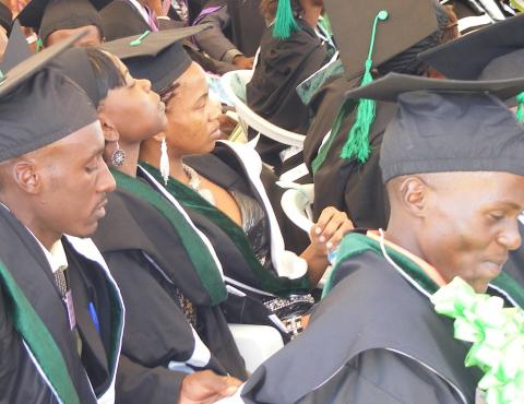 Mbarara University of Science & Technology Graduation List January 2017