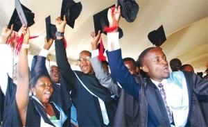 Graduates of Kyambogo university