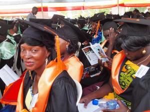 Graduates should aim at securing scholarships to upgrade.
