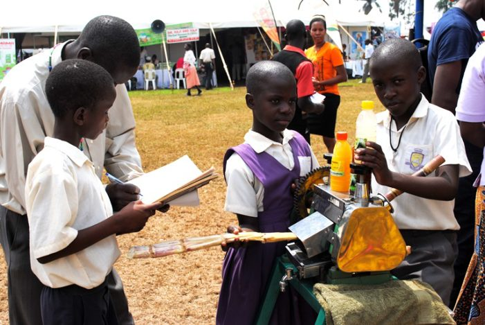 How Pupils at Buddo Parents Academy make liquid soap, chalk & juice
