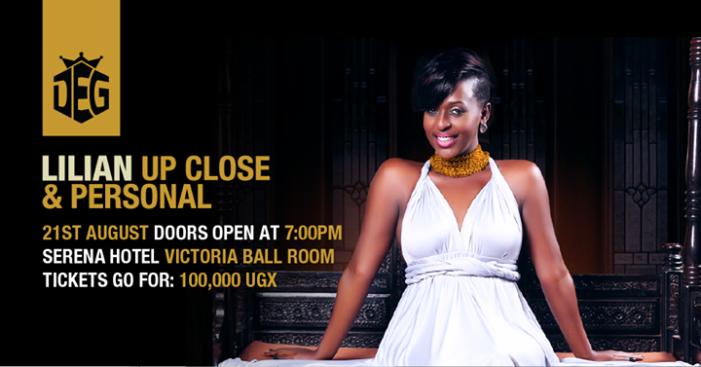Lilina Mbabazi's Up Close & Personal Concert set at Serena Hotel