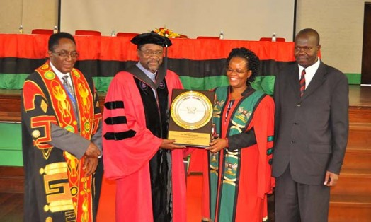 """Prof. Oloka-Onyango's inaugural professorial lecture on """"Ghosts and Law"""""""