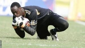 Uganda Cranes goalkeeper Abel Dhaira