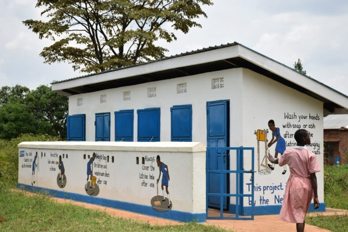 Changing Rooms: A motivation for Girls to Stay at School