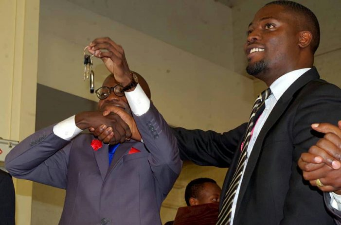 Photos: Swearing in Ceremony of Papa Were Salim as Makerere University Guild President