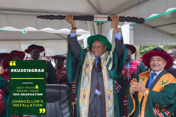 Prof. Mondo Kagonyera Installed Kampala University Chancellor