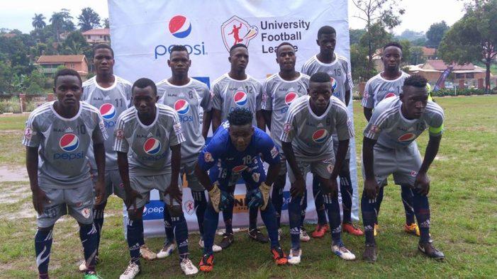 Pepsi University Football LeagueFixtures