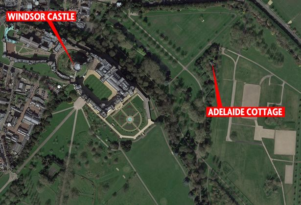 harry and meghan acquire adelaide cottage as a gift from the queen the campus times. Black Bedroom Furniture Sets. Home Design Ideas