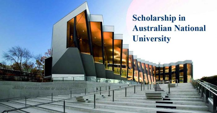 Undergraduate Scholarships for International Students at Australian National University