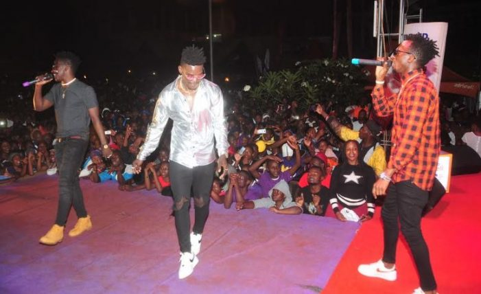 NBS After 5 Presenter Douglas Lwanga locates the Purple Party to Mbarara