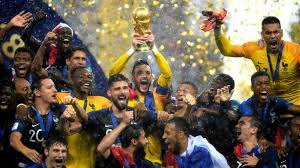 France Wins FIFA World Cup Russia 2018 (France 4-1 Croatia)