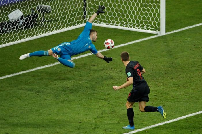 FIFA World Cup Russia 2018 Highlights Russia 2-2 Croatia (3-4) on penalties July 07 2018