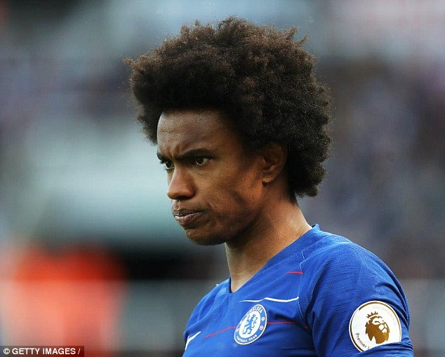 Real Madrid to bid £100m for both Chelsea's Courtois and Willian