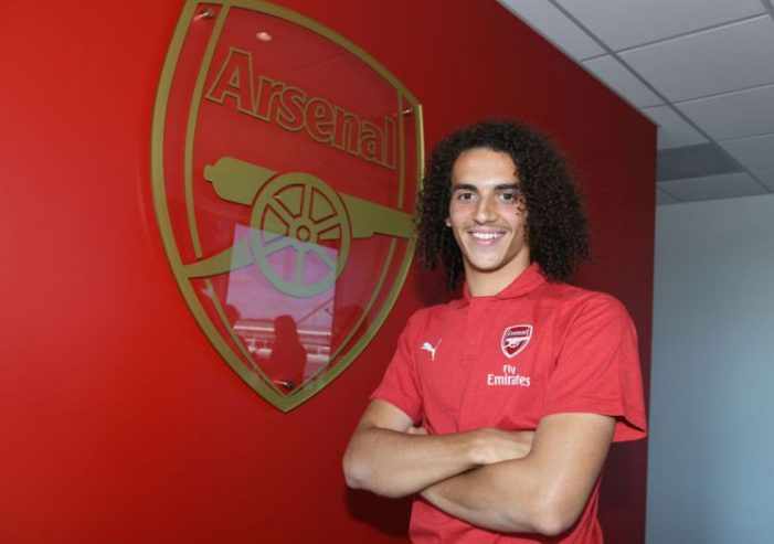 Arsenal lands fifth signing of Matteo Guendouzi from French Club Lorient