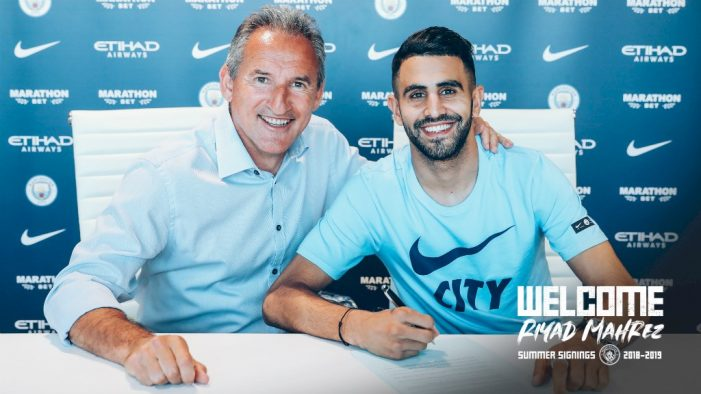 Manchester City sign winger from Leicester City for £60m