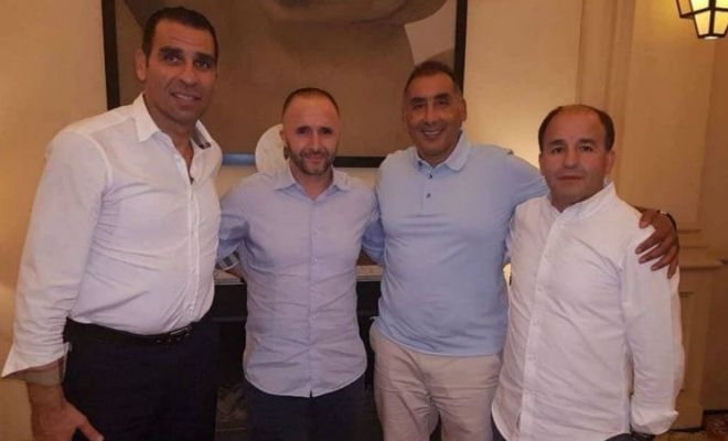 Djamel Belmadi replaces Rabah Madjer as Algerian head coach