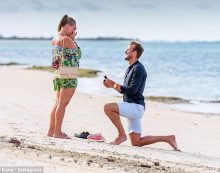 Harry Kane and fiancee Katie Goodland welcomes second child