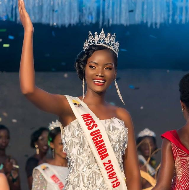 Makerere University Business School student, Quiin Abenakyo crowned Miss Uganda 2018-2019
