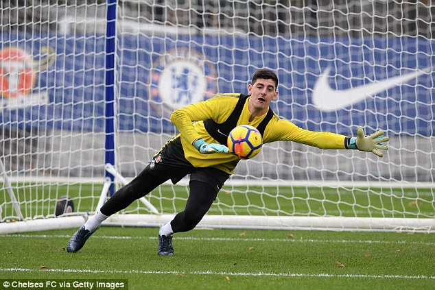 Thibaut Courtois joins Real Madrid for £35million on a six-year deal