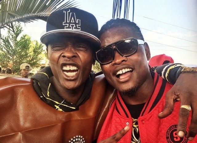 Chameleone and Pallaso clash at Rwanda Music Tour