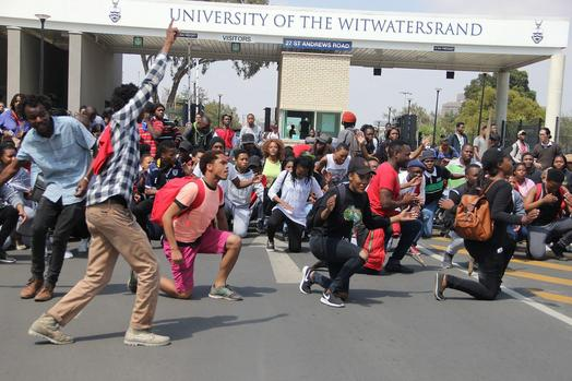Protests in South Africa Universities Against Delay in Government Allowances