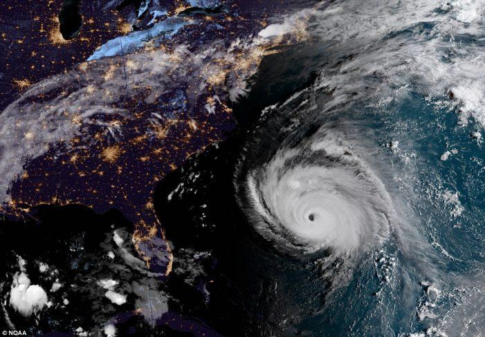Destructive Hurricane Florence To Batter The Carolinas For Days