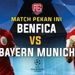 Benfica vs Bayern Munich Livestreaming Online
