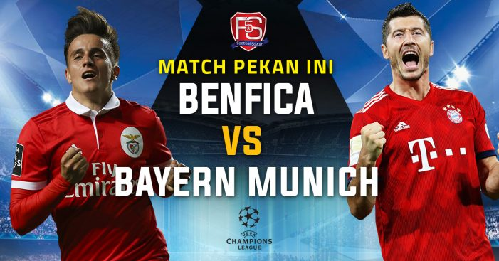 Benfica Vs Bayern Munich Live Stream September 19 2018 Kick Off 19:00 GMT