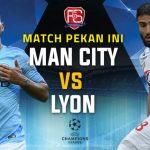 Manchester City vs Lyon Live Streaming