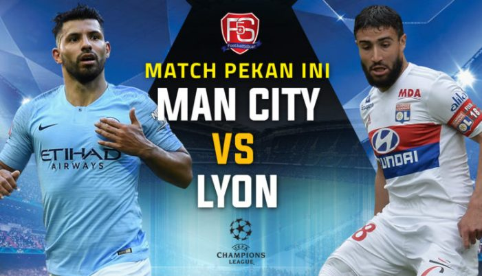 Manchester City Vs Olympique Lyonnais Live Stream September 19 2018 Kick Off 19:00 GMT