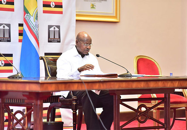 State of the Nation address by His Excellence Yoweri Museveni