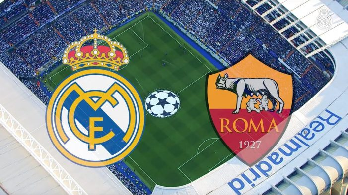 Real Madrid Vs AS Roma Live Stream September 19 2018 Kick Off 19:00 GMT