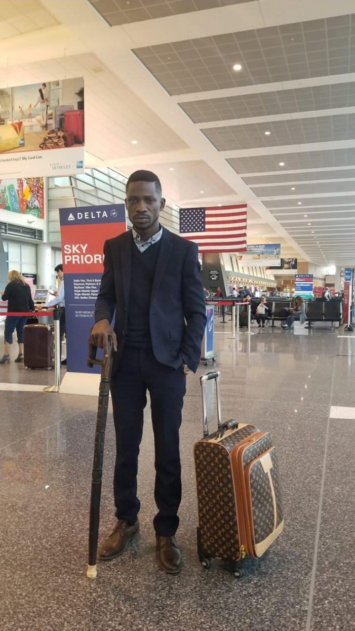Bobi Wine En-route to Uganda, to Arrive on Thursday