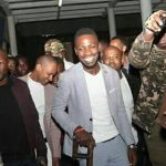 Bobi wine arrives safe in Kenya