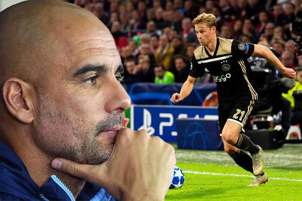 Man-City-Frenkie-de-Jong-Ajax