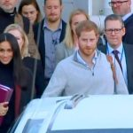 Prince Harry and Meghan Markle in Sydney