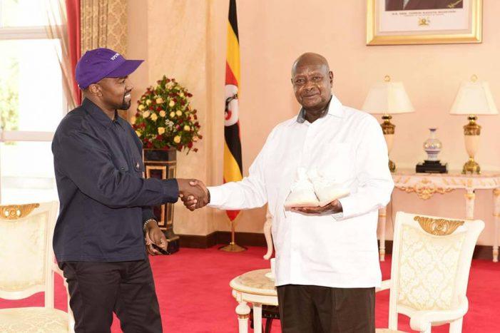 Kanye West, Kim Kardashian Hosted by Museveni Ahead of Uganda Video Shoot