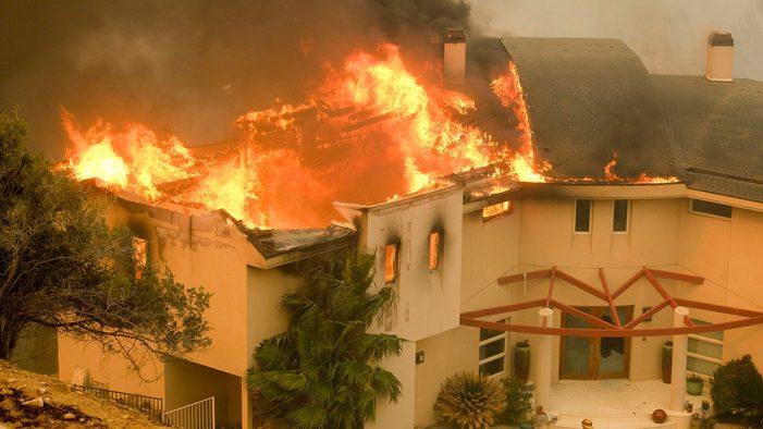 California Fires, Lady Gaga Evacuates Home