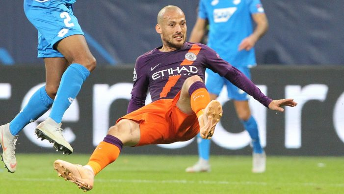 David Silva ruled out for Manchester City clash with Hoffenheim in Champions League