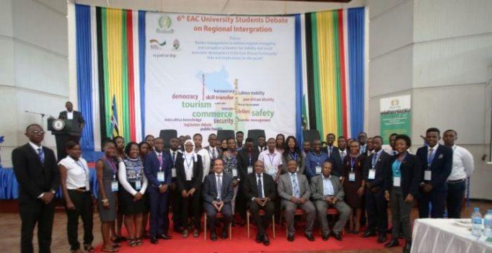 6thEast African Community University Debate Kick Starts in Tanzania