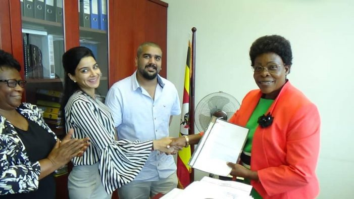 Kampala Minister Receives 300 Victoria University Scholarships from Ruparelia Foundation