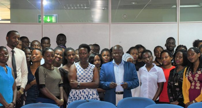 40 Intern Students Inducted at Local Government Finance Commission