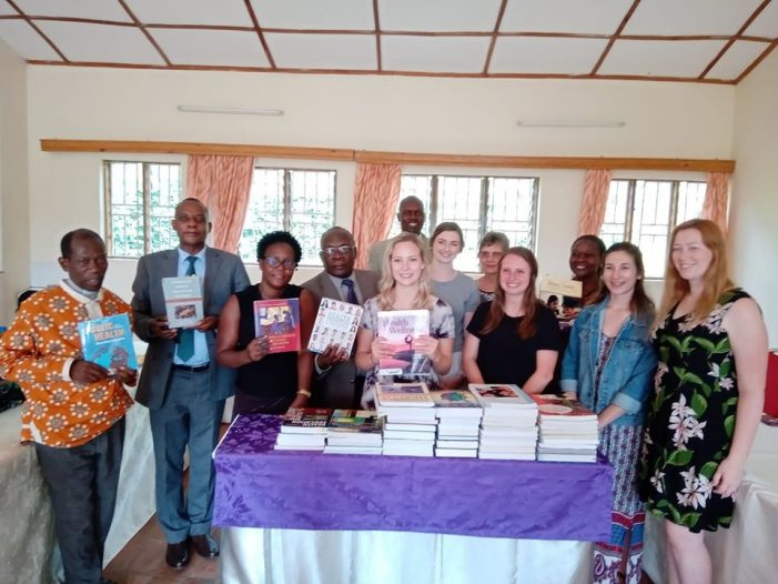 Ndejje University Gets Books from USA