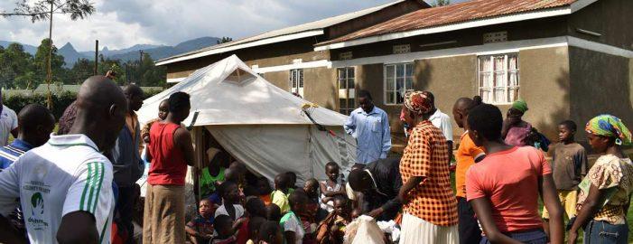 Uganda Christian University gives succour to Bududa landslide victims