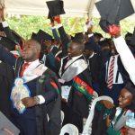 Graduates of Makerere university at the 69th Graduation
