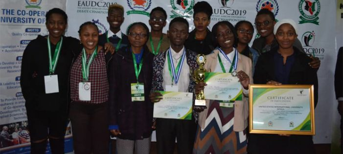 Cavendish University wins big at the 4th East African Universities Debate Championship