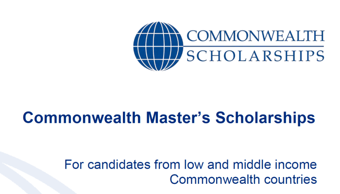 Commonwealth Scholarships for Candidates from Low and Middle-Income Countries in UK, 2020