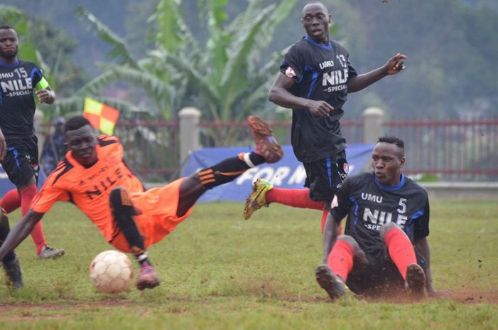 University Football League: Makerere University Business School draw with Uganda Martyrs University