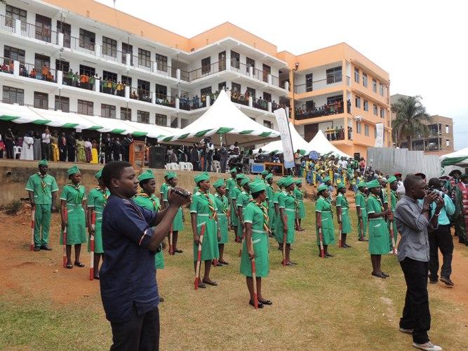 Kampala University School of Nursing and Health Science 8th Graduation ceremony