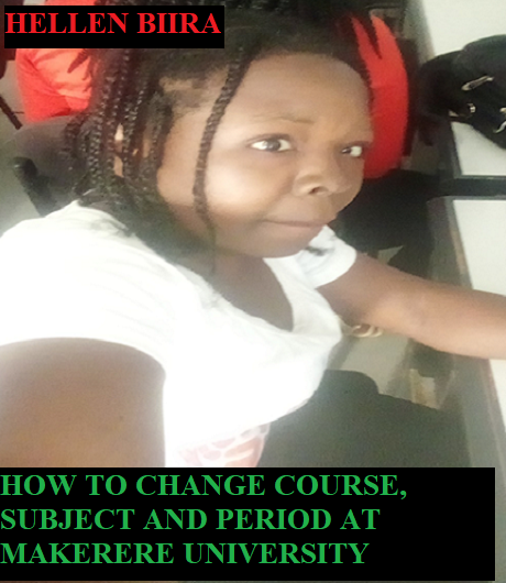Changing a course at Makerere University